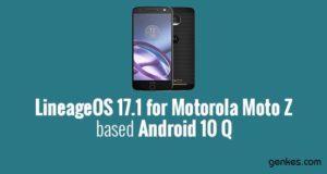 Lineage OS 17.1 for Motorola Moto Z