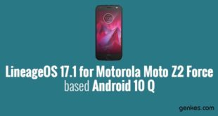Lineage OS 17.1 for Motorola Moto Z2 Force