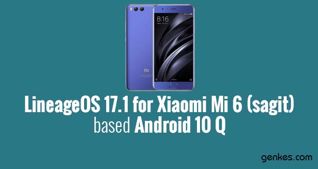 Lineage OS 17.1 for Xiaomi Mi 6