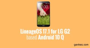 Lineage OS 17.1 for LG G2