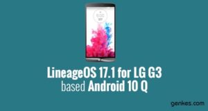 Lineage OS 17.1 for LG G3