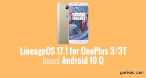 Lineage OS 17.1 for OnePlus 3