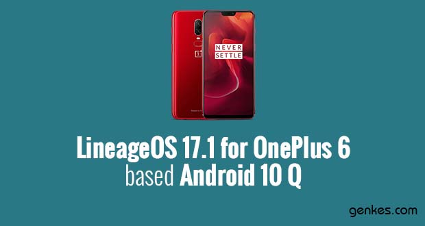 Lineage OS 17.1 for OnePlus 6