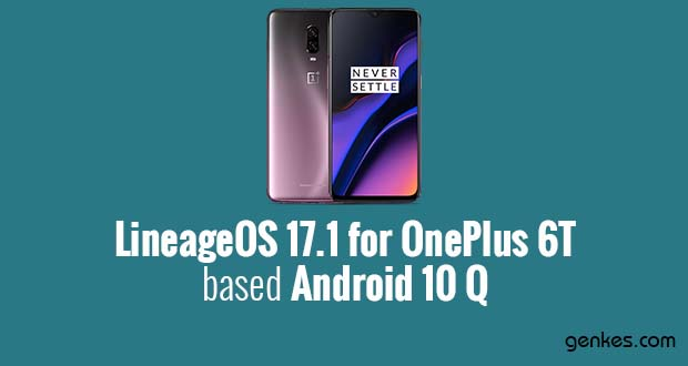 Lineage OS 17.1 for OnePlus 6T