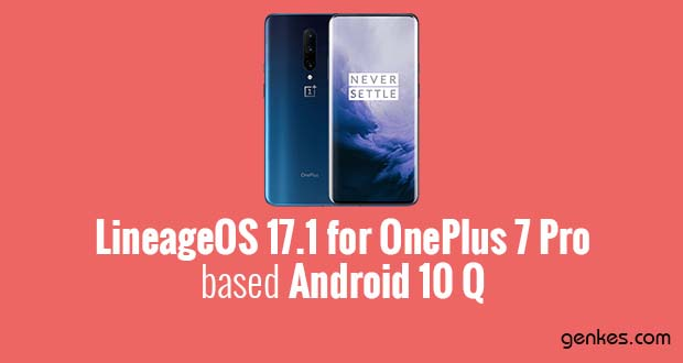 Lineage OS 17.1 for OnePlus 7 Pro