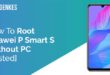 Root Huawei P Smart S Without PC