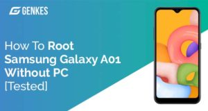 Root Samsung Galaxy A01 Without PC