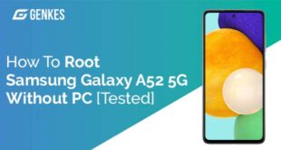 Root Samsung Galaxy A52 5G Without PC